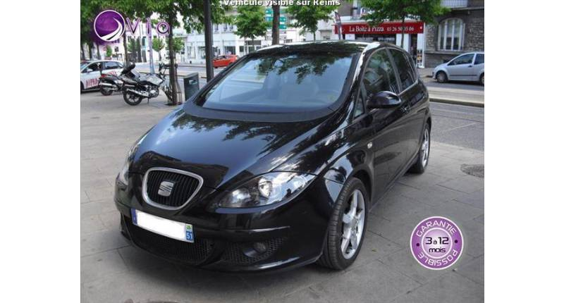 Seat Altea tdi 140 black and white