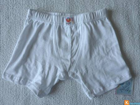 Boxer blanc taille 3 ans neuf NewAge (151)