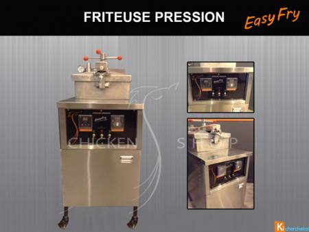 FRITEUSE PRESSION EASY FRY