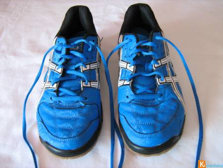 Baskets Oasics Gel bleues