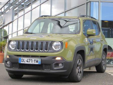Jeep Renegade 1.6 MJT LONGITUDE 4X2 120