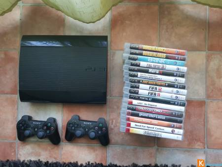 Console ps3 ultra slim 500go