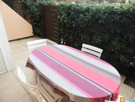 CARNON OUEST F2 + TERRASSE + PARKING