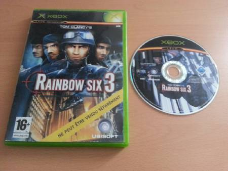 Jeu Xbox Rainbow Six 3