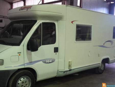 camping car challenger 104