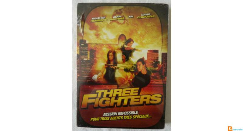 DVD Three fighters neuf