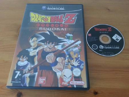 Jeu Gamecube Dragon Ball Z Budokai