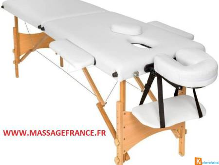 Table de massage 99 euros sur Massagefrance.fr