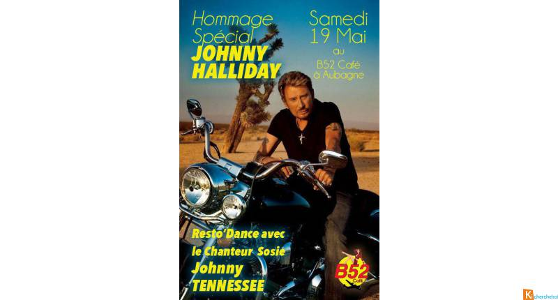 Hommage Johnny Hallyday avec Johnny Tennessee au