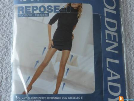 Collant taille 2 neuf Golden Lady (44)