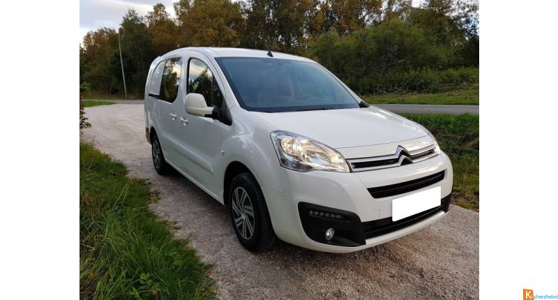 Don de ma voiture Citroën Berlingo 1.6 HDI