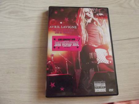 Avril Lavigne DVD Live The Bes