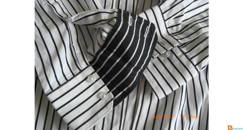 LOT H – CHEMISES HOMME T.L occasion EXCELLENT ETAT