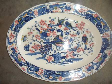 plat faience