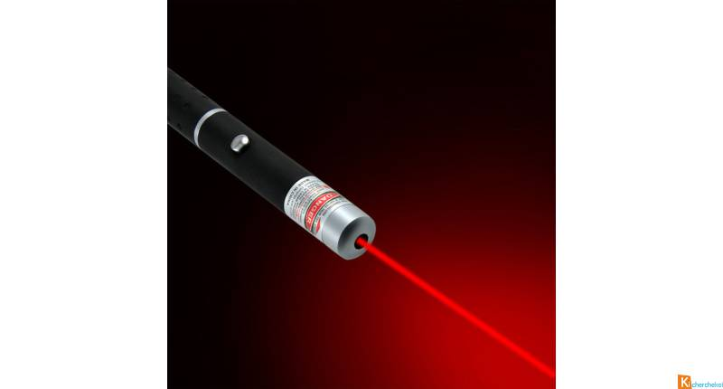 POINTEUR STYLO LASER ROUGE 5 MW (NEUF)