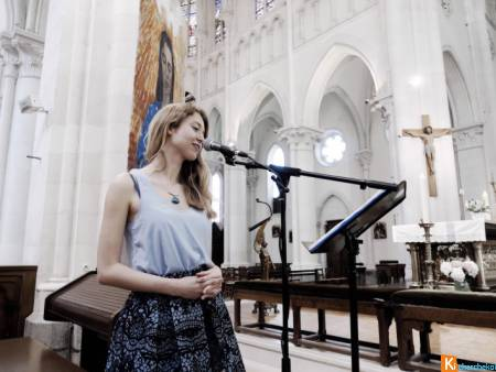 Chanteuse animatrice messe mariage ORNE Normandie