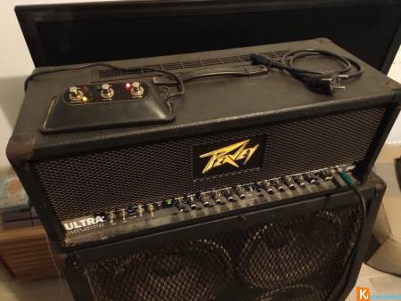 Tête Peavey Ultra Plus + baffle MS412