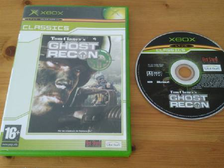 Jeu Xbox Ghost Recon