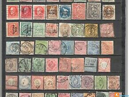 200 vieux timbres different Allemagne