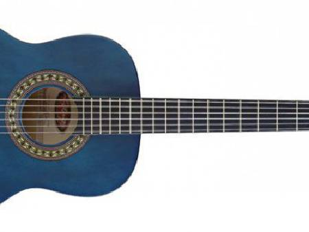 Guitare classique ashley bleu