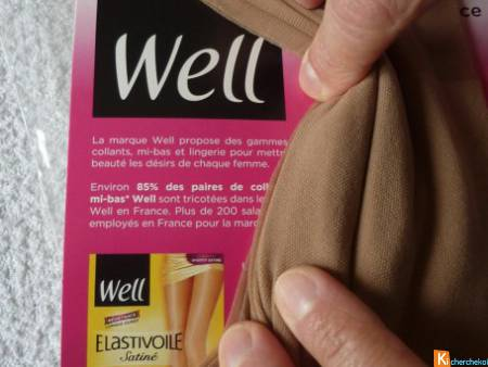 Collant Well Elastivoile taille 4 neuf (8)