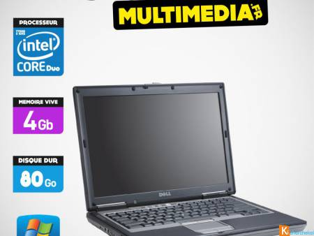 PC Portable DELL D630 CORE 2 DUO 2 GHZ 320GO 2GB