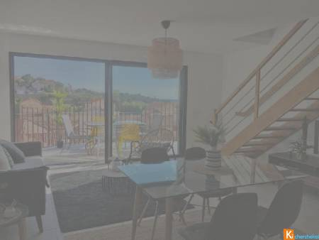 VENTE A PORT-VENDRES, appartement T3, 80m2 sh, terrasses 27m2, parking, 375 000 € casting immobilier