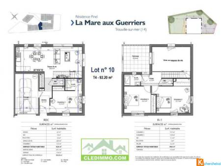 MAISON CONTEMPORAINE (LOT 10) - Trouville-sur-Mer