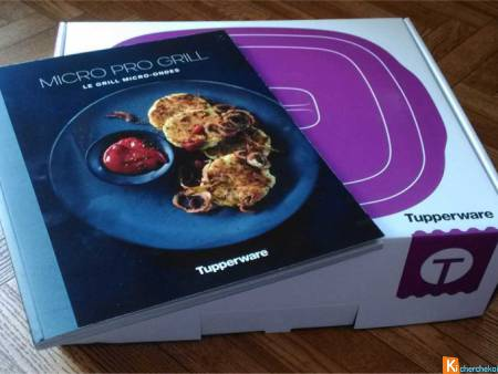 Micro Pro Grill Tupperware +Livre recettes 95pages
