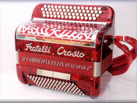 ACCORDEON FRATELLI CROSIO COMPACT 96 BASSES.