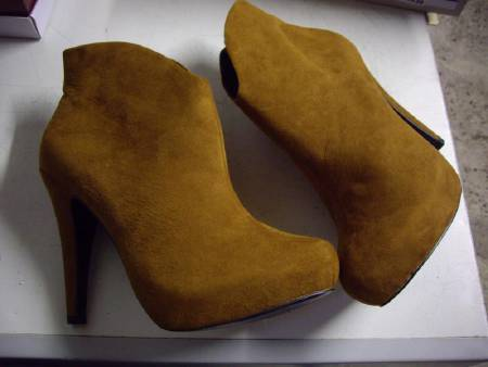 Bottines Camel pt 41 -Neuves