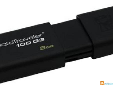 Clé Usb 8Go-Kingston Datatraveler 100 G3