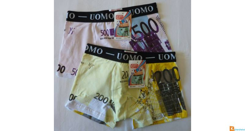 Lot 2 Boxers 6-8 ans neuf (39)