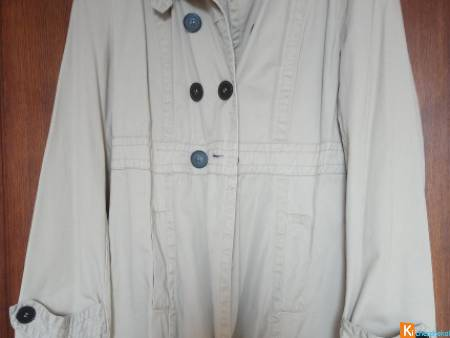 Trench imperméable femme