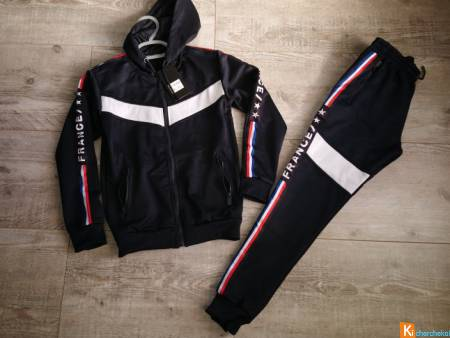 Ensemble de jogging France 12 ans