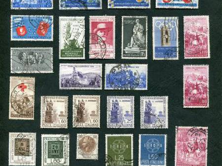 TIMBRES ITALIE OBLIT 1958 A 61