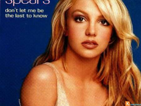 "BRITNEY ""Don't Let Me Be The Last To Know"""