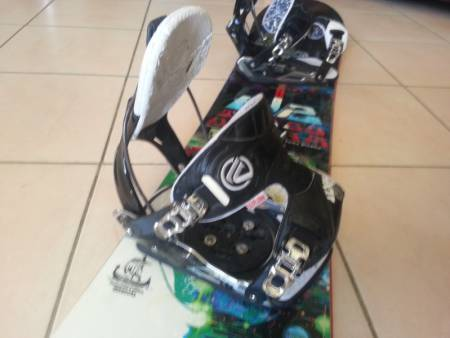 snowboard k2 + fix flow
