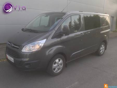 Ford TRANSIT CUSTOM 2.2 Tdci 125 Cabine Approfondie Limited 5 Places 290 L1h1