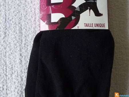 Collant noir taille unique neuf ANDLINA (10)