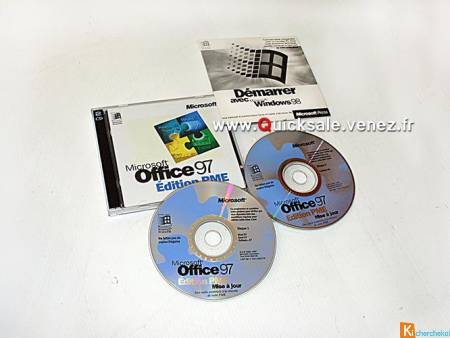 CD-Rom Microsoft Office 97 PME 20€