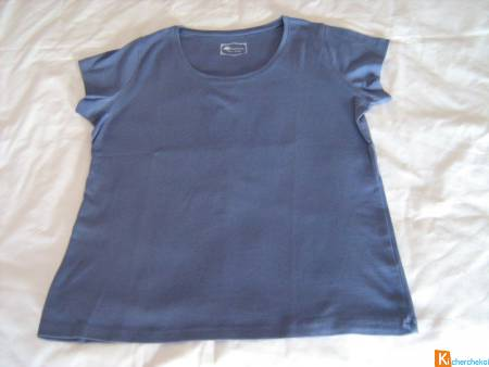 Tee-shirt K Woman bleu