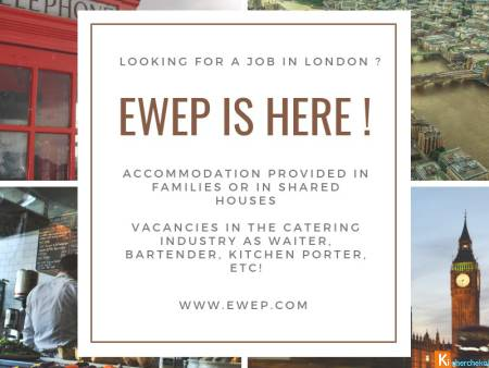 SUMMER 2019 - Student jobs in London (catering and