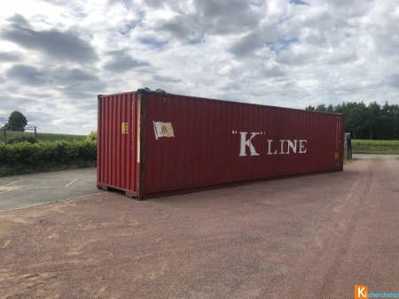 container maritime 20/40' occasion