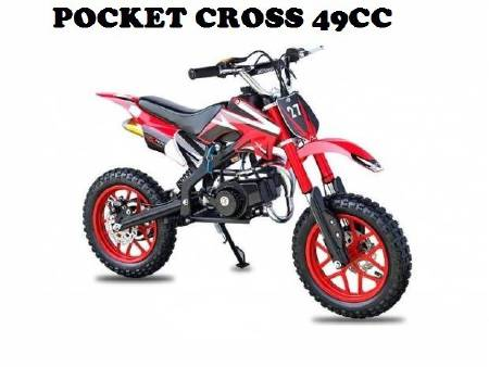POCKET CROSS 49CC