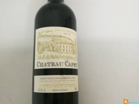 Lot de 3 Château Capet Saint-Emilion Grand Cru 201