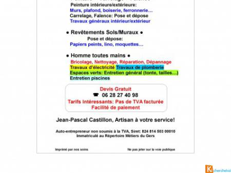 Fintions bâtiment - Multi-Services