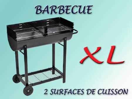 Barbecue XL 2 compartiments