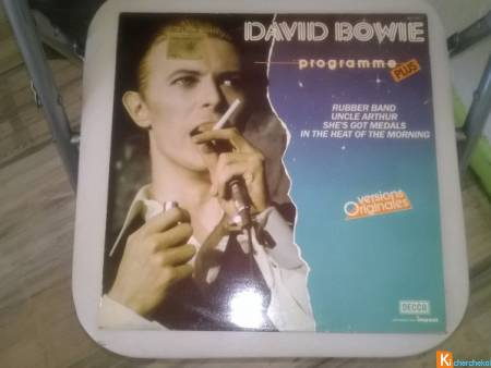 Vinyle David Bowie   Programme plus  1985