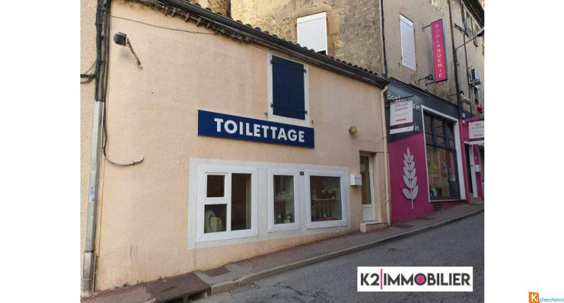 Murs et fonds local commercial - Privas